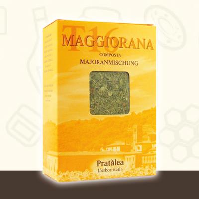 Tisana T16 alla Maggiorana per il Mal di Testa