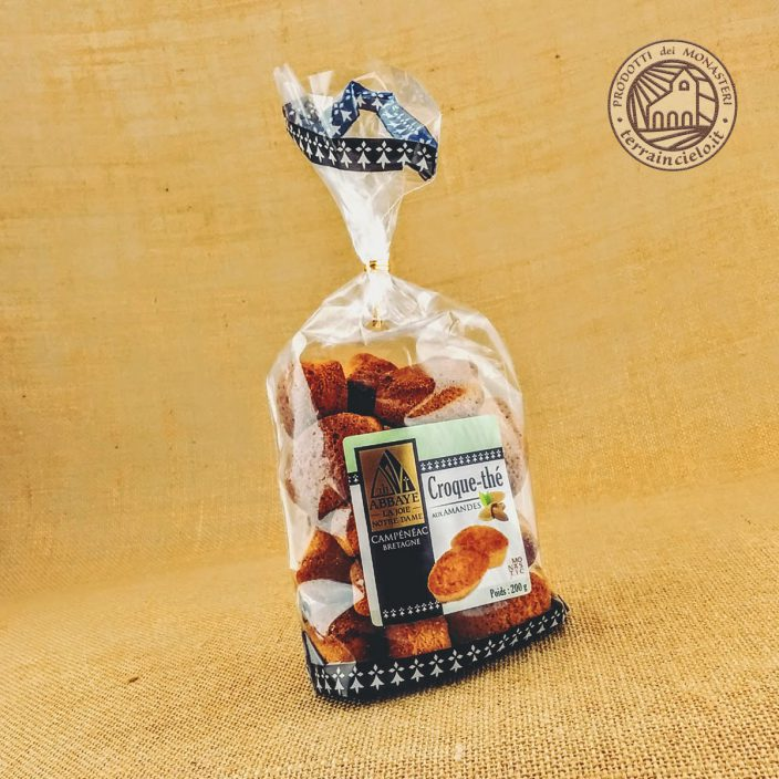 Croque-Thé Biscottini alle Mandorle Monache Francesi