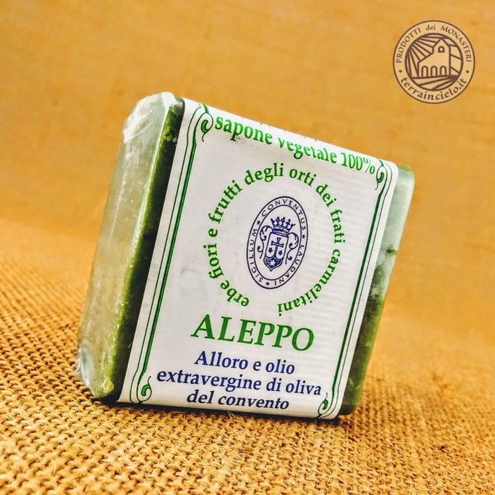 Sapone di Aleppo con Alloro Delicato dei Carmelitani
