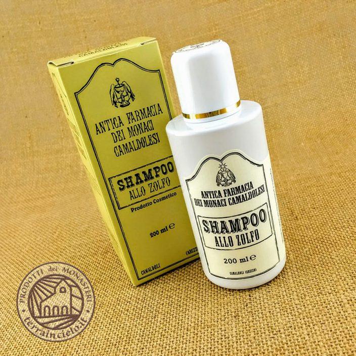 Shampoo allo Zolfo Capelli Grassi di Camaldoli