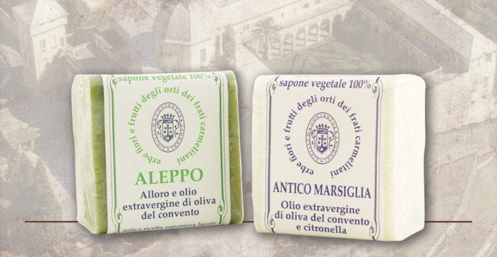 Saponi Aleppo e Antico Marsiglia Convento dei Carmelitani di Loano